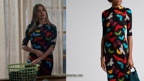 MODERN FAMILY : Butterflies dress for Gloria in S11E07