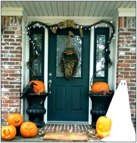 halloween front door decorations halloween front door decorations uk