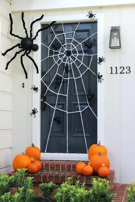 halloween front door decorations double front door halloween decorations