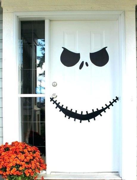 halloween front door decorations best front door halloween decorations