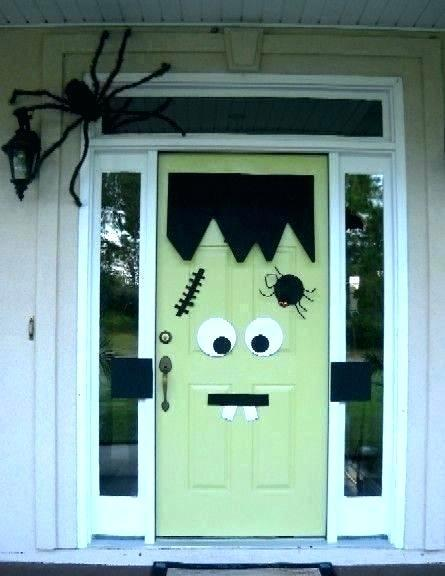 halloween front door decorations front door halloween decoration ideas pinterest