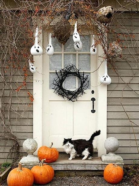 halloween front door decorations halloween front door decorations pictures