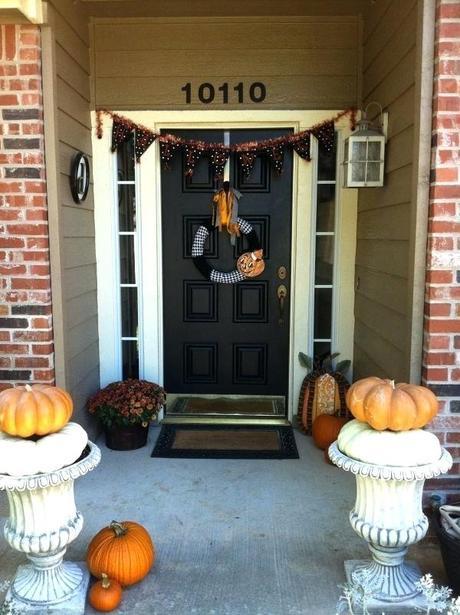 halloween front door decorations front door outdoor halloween decorations