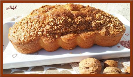 Cake moelleux au pralin