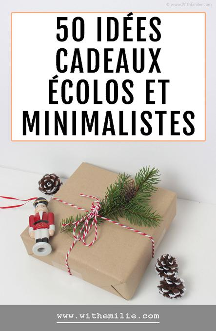 50 idées cadeaux écolos et minimalistes