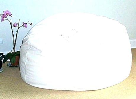 white fur bean bag buy faux fur bean bag