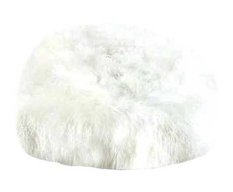 white fur bean bag white fluffy bean bag amazon