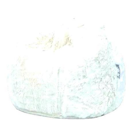 white fur bean bag fluffy white fur bean bag chair