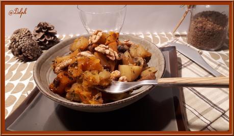 Poêlée de légumes d'automne avec ou sans le cookéo