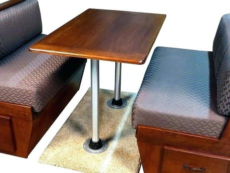 rv dining table rv dining table with storage