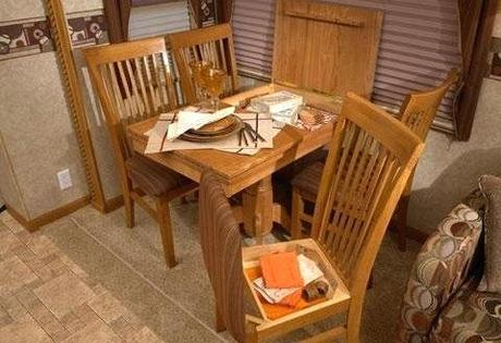 rv dining table rv dining table bed