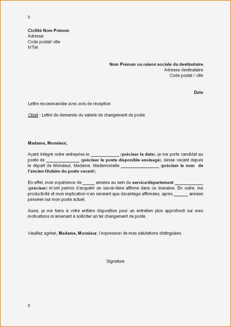 lettre pour changer de conseiller pole emploi - Modele et ...