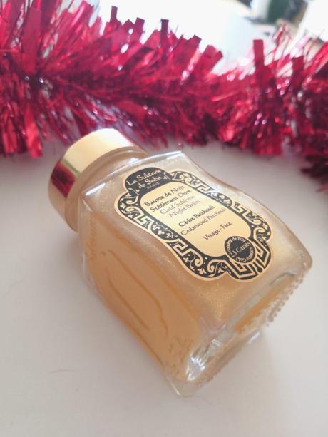Idées cadeaux Noël : Le baume de nuit à l'or de la Sultane de Saba