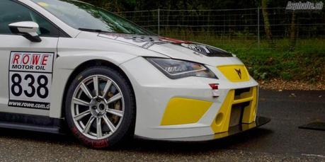 Essai Cupra TCR: découverte d'une voiture de course