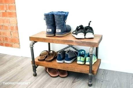 diy shoe rack bench diy wooden shoe rack bench