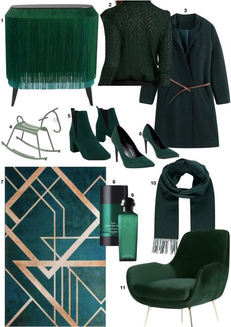 vert sapin idée déco beauté mode