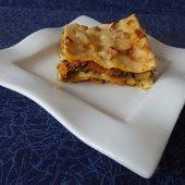 Recette autour d'un ingrédient #11- lasagnes aux champignons et potimarron - Le blog de Michelle - Plaisirs de la Maison