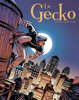 Le Gecko un comics des éditions akileos