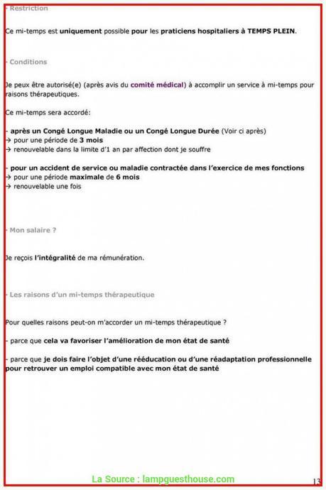 Qualifié Modèle De Lettre Demande De Prolongation D'Un Congé ...