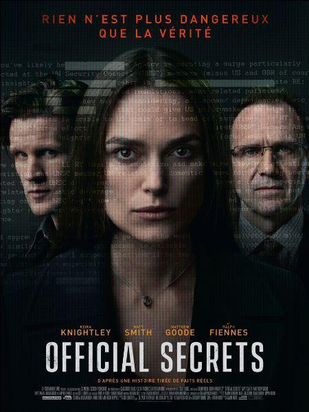 Bande annonce VF pour Official Secrets de Gavin Hood