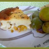 Clafoutis aux prunes - Oh, la gourmande..