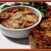 Flan de Courgettes et Pommes de terre - Oh, la gourmande..