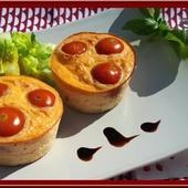 Frittatas au Comté, Tomates et Jambon - Oh, la gourmande..