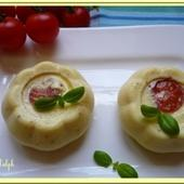 Clafoutis tomates cerise - Oh, la gourmande..