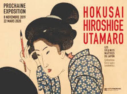 Calligraphies monumentales de Fabienne Verdier à Granet et Hokusai et les autres à Caumont