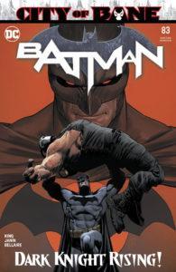 Titres de DC Comics sortis les 13 et 20 novembre 2019