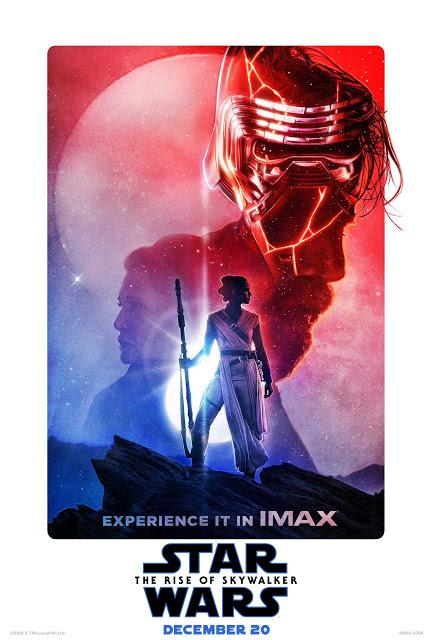 Affiches Real 3D et IMAX pour Star Wars : Episode IX - L'Ascension de Skywalker signé J.J. Abrams