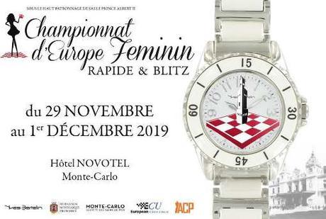 Championnat d'Europe féminin de parties rapides et blitz à Monaco