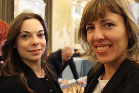 Championnat d'Europe féminin en Rapide à Monaco