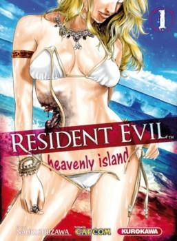 Couverture Resident Evil : Heavenly Island, tome 1