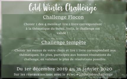 BLOGMAS 2019 – Jour 1 : PAL du Cold Winter Challenge