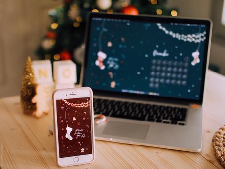 fond d'écran Noël pour téléphone quiaimeastuces