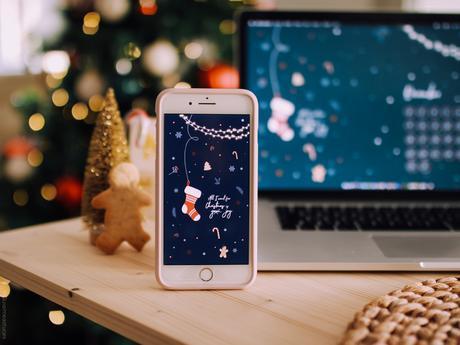 calendrier fond d'écran décembre 2019 Noël