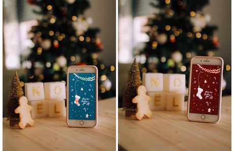 fond d'écran 2019 Noël quiaimeastuces décembre