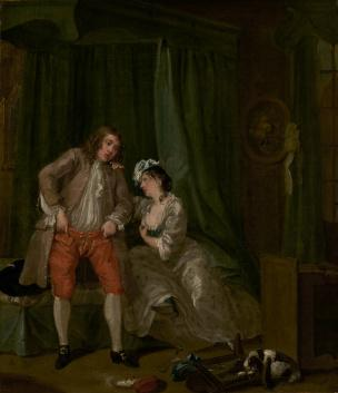 hogarth after 1730-31 Paul Getty Museum