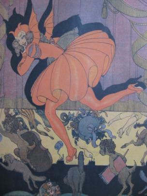 La Baionnette, 1917, « A la diable », revue civile et militaire, illustree par Gerda Wegener verso