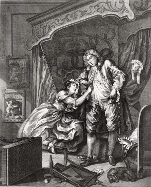hogarth after 1730-31 gravure