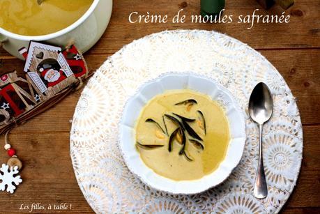 Crème de moules safranée