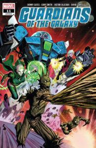 Titres de Marvel Comics sortis les 13 et 20 novembre 2019