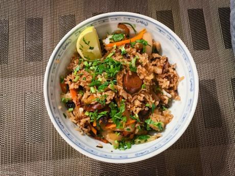 Saucisse – Riz sauté à la vietnamienne (Cơm chiên)