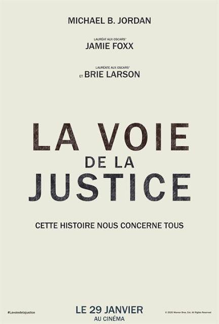 Bande annonce VF pour La Voie de la Justice de Destin Daniel Cretton
