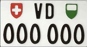 Importer une voiture de Suisse : les plaques d'exportation