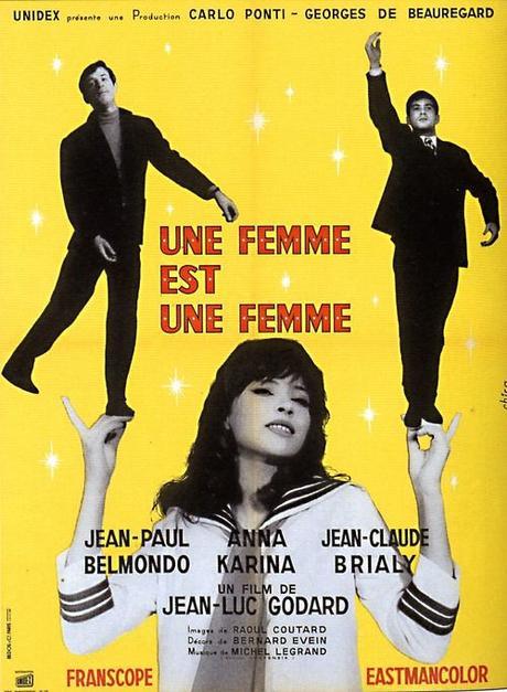 Une Femme est une Femme (1961) de Jean-Luc Godard