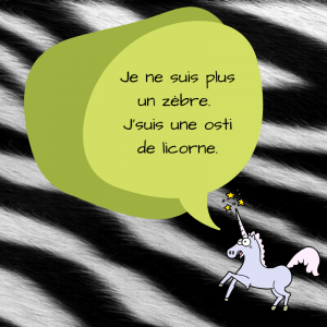 Me voici une licorne