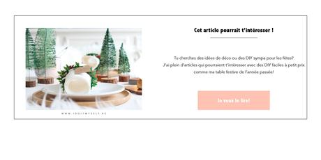 Menu de Noël – DIY facile