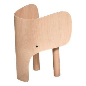 EO Chaise Elephant en bois de hêtre par Marc Venot